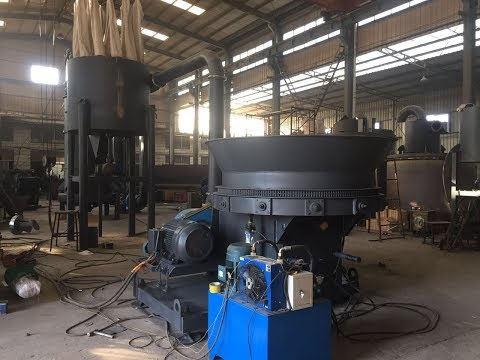 Palm crusher /hammer mill working principle