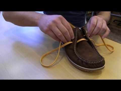 Как завязать шнурки. Способ №3