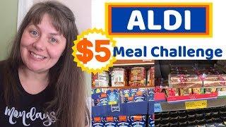 Aldi $5 Meal Challenge