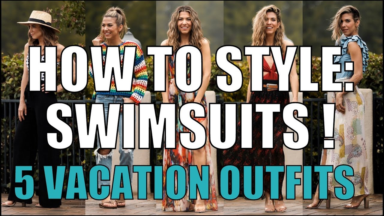 How To Style Swimsuits - 5 Spring Break Outfits -(ft CUPSHE)- By Orly Shani
