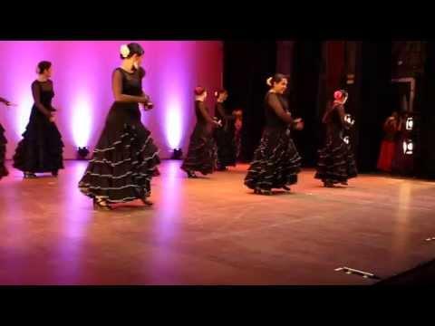 """Gala 2014 """"Suena Flamenco"""" Escuela de Arte Flamenco Rocío González"""