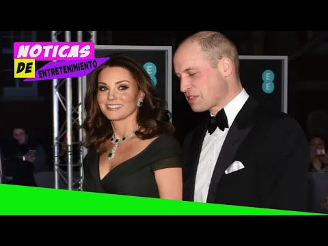 Duchess of Cambridge wears green with black sash in nod to Time's Up movement as Bafta stars turn ou