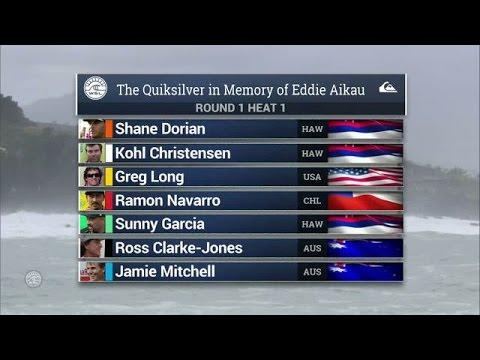 2016 Quiksilver in Memory of Eddie Aikau: R1, H1 Recap