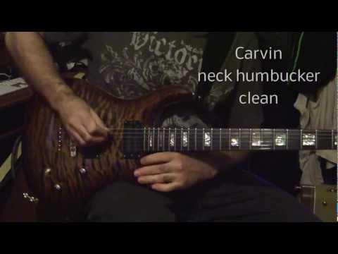 Carvin CT6 vs PRS Custom 24 Artist Package, Egnater Rebel 30 amplifier.