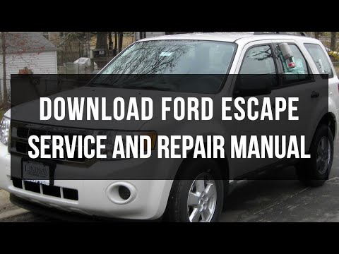 Download Ford Escape repair and service manual free