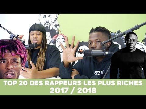 Le TOP 20 des Rappeurs les plus riches  2017/2018