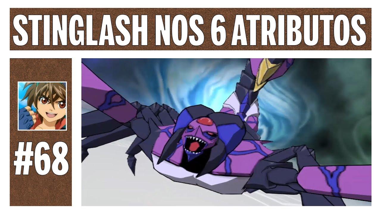 Bakugan #68 - Todos os Stinglashes (EXTRA 34)