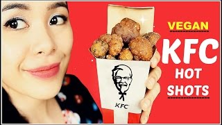 How To Make Vegan KFC Hot Shots Using Cauliflower Ft. Honest Dad and Nephew Taste test