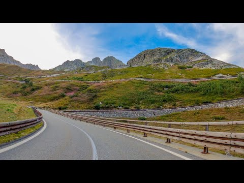 Driving the Great St Bernard Pass, from Italy to Switzerland