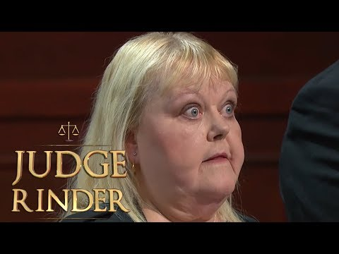 Woman Uses Extremely Vulgar Language in Court  Judge Rinder