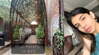 VLOG: Mini staycation in NYC at the NoMo Soho Hotel!