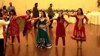Sangeet dance performance August 13, 2014