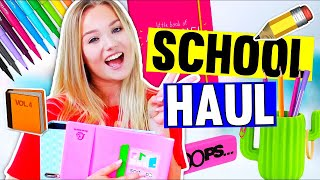 ⚠️XXL Back to School SUPPLIES HAUL!💖📚 2017 + VERLOSUNG