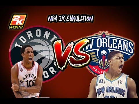 Toronto Raptors Vs New Orleans Pelicans Full Game March  K