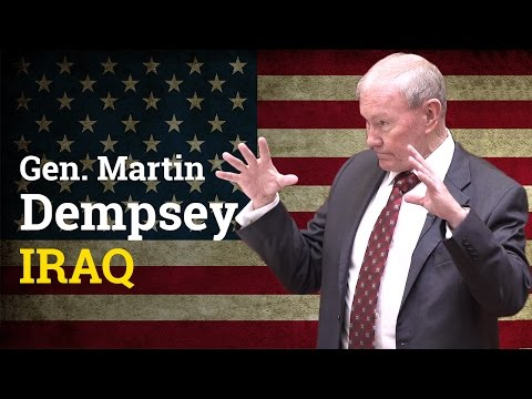 What did Iraqis think of American troops? | General Martin Dempsey (2017)