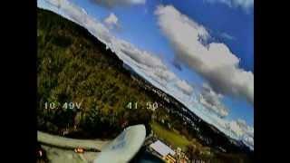 Talking sailplane airspeed / height / vario test