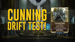 Cunning Drift Test & All You Need To Know [Halls of Ascension] (Warframe)