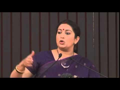 Smriti Irani Impressive speech TO Youth: PAPU Rahul Gandhi must watch
