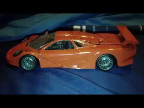 McLaren F1 GTR Longtail Road Car Model Kit - YouTube