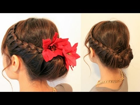 holiday-braided-updo-hairstyle-for-medium-long-hair-tutorial
