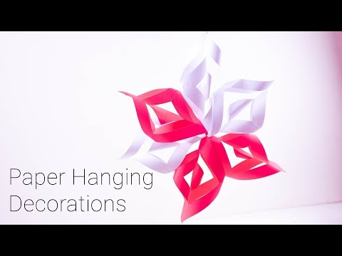Easy Paper Wall Hanging | Paper Hanging Decorations | Creative Paper Wall Hanging