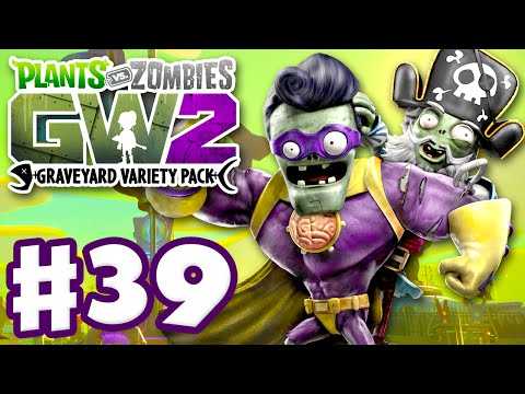 Plants vs. Zombies: Garden Warfare 2 - Gameplay Part 39 - Graveyard Variety Pack! Aqua Center! (PC)