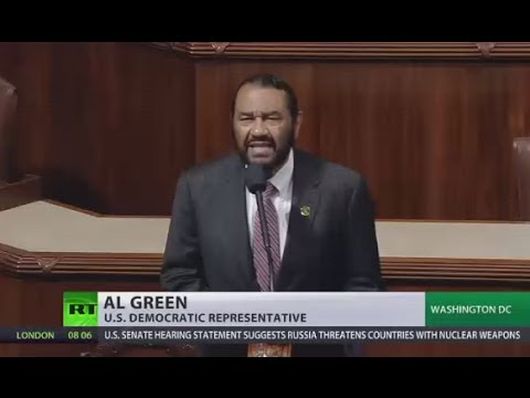 US congressman calls for Trump's impeachment on House Floor