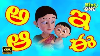 Telugu Aksharamala Learn Telugu Alphabets For Kids KidsOneTelugu