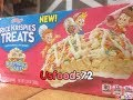 New KELLOGG'S RICE KRISPIES TREATS (BIRTHDAY CAKE FLAVOUR ) - USFOODS72 USA.