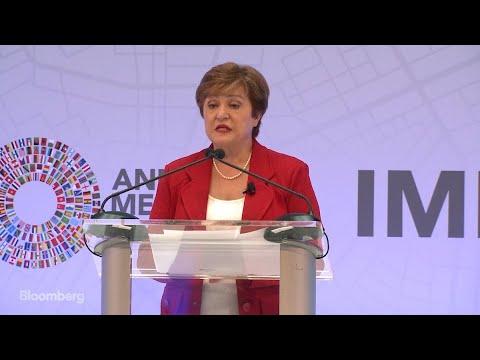 New IMF Chief Says Global Economy Is in a Synchronized Slowdown