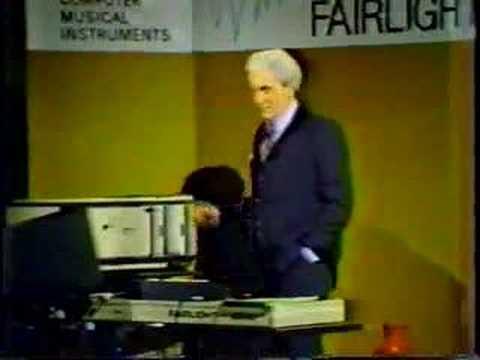 Bob Moog Fairlight part 1