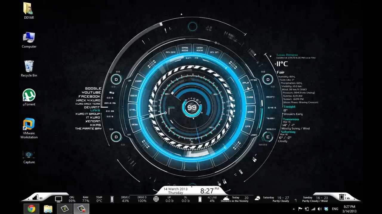 Image result for TECH-A rainmeter