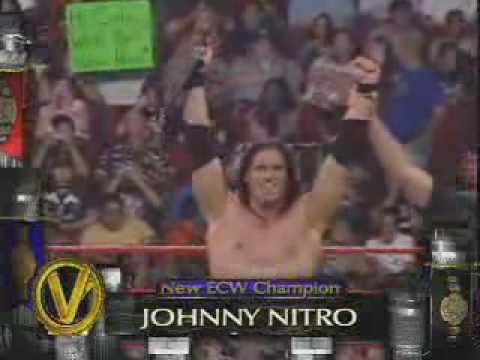 John Morrison wins the ECW Championship