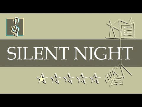 Video Sheet Music Eb - Silent Night - Gruber - Christmas Song (Guitar chords)