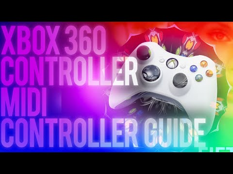 Xbox 360 Controller Midi Controller - Ultimate Guide (FOR SYNTH WIZRADS ONLY)
