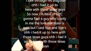 Texas Guys ~ Debby Ryan (from Jessie) ~ with lyrics