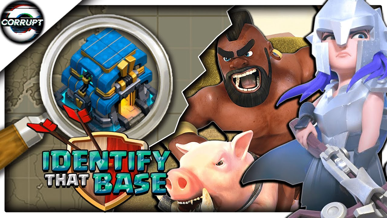 TH12: Base Identification | TH12 Queen Charge Mass Hog Guide