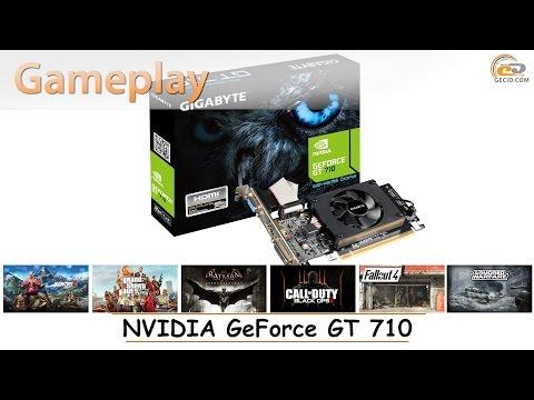 NVIDIA GeForce GT 710: Gameplay в 17 популярных играх
