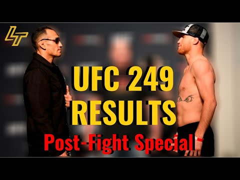 UFC 249 Results: Tony Ferguson Vs. Justin Gaethje   Post-Fight Special   Luke Thomas