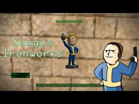 Fallout 4 - Saugus Ironworks - Explosive Bobblehead and Picket Fences Location