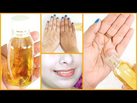 How to Make Skin Lightening Fairness Oil * Liquid Gold * to Get Fairer Skin