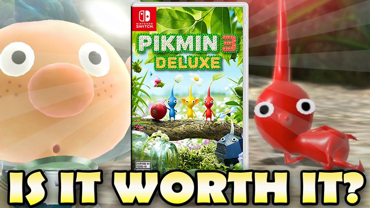 Pikmin 3 Deluxe Trailer Is It Worth It Youtube