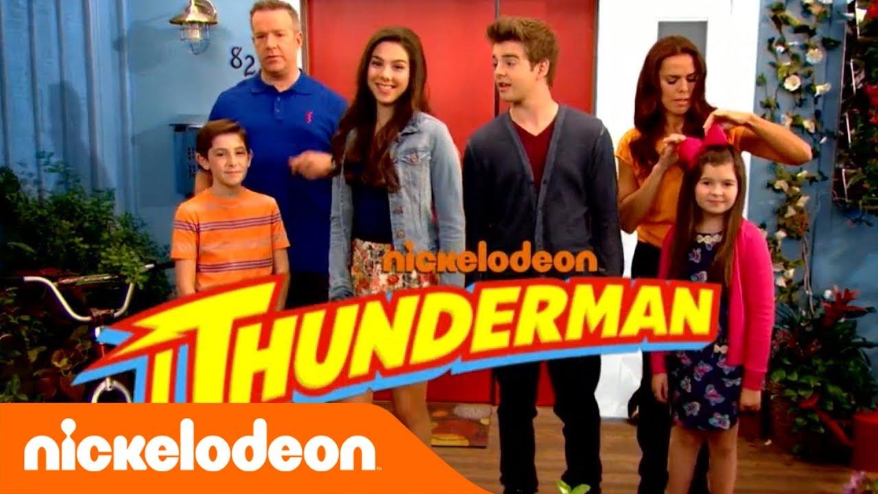I Thunderman La Sigla Nickelodeon Italia Youtube