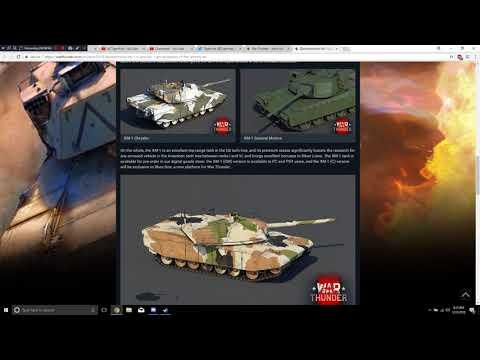 War Thunder - Upcoming Content - XM-1 (GM) + XM-1 (C) (Premium & Console Exclusive RANT)