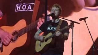 Ed sheeran Barcelona live in Dublin April 2017