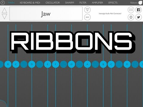 RIBBONS Spectral Synthesizer by Olympia Noise Co. - Demo for the iPad