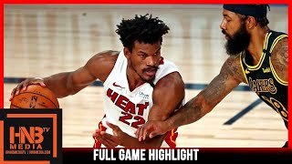 Heat vs Lakers Game 5 10.9.20 | NBA Finals | Full Highlights