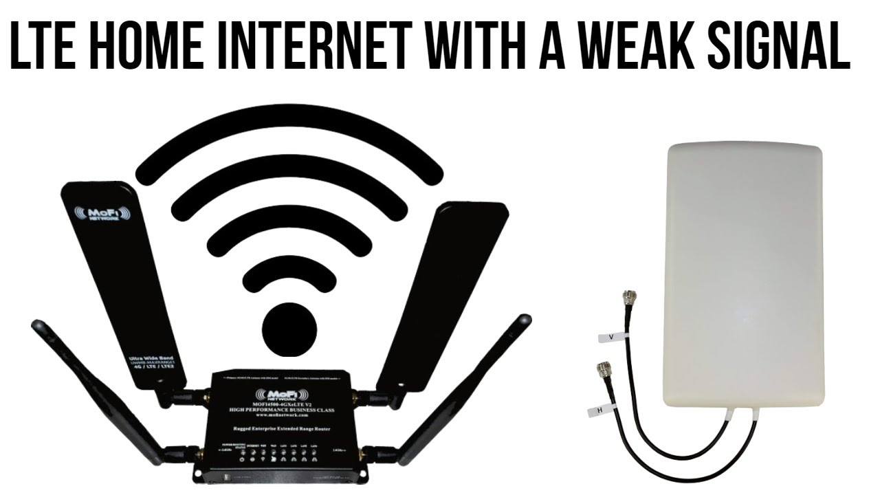 Rural Home Internet - Using the MoFi 4500 LTE and Proxicast Antenna for  streaming, gaming, and more