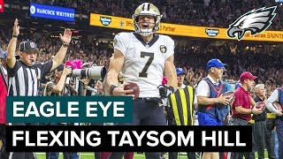 Taysom Hill Does It All for the Saints | Eagle Eye