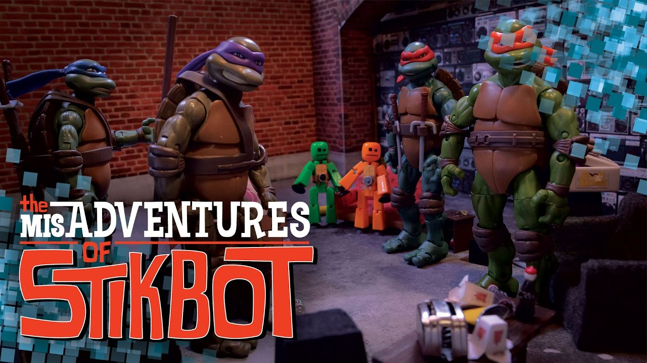 Download The MisAdventures of Stikbot 🎭 | S1 Ep. 7 (Teenage Mutant Ninja Stikbots)